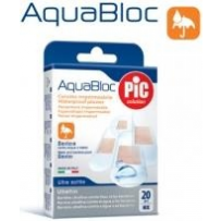 Plastry Aquabloc Assorted 20szt