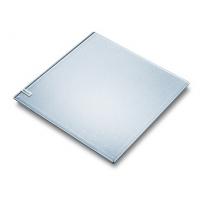 Waga szklana łazienkowa GS 40 MAGIC PLAIN SILVER