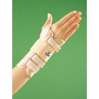 Długa bioceramiczna orteza nadgarstka z taśmą mocująca