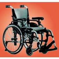 Wózek inwalidzki aluminiowy KARMA S-ERGO 305 silve