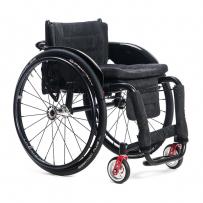 Wózek inwalidzki lekki z systemem szybkiego demontażu kół V- AVIATOR mtbw b1