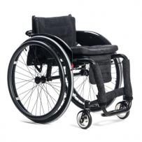 Wózek inwalidzki lekki z systemem szybkiego demontażu kół typu T- TORNADO mtbw a1