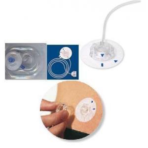 Zestaw infuzyjny Quick-set- 80 cm,  6 mm. Wkłucie miękkie rozłączane na wkłuciu